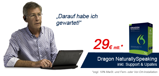 Dragon Naturally Speaking Legal für DictaNet